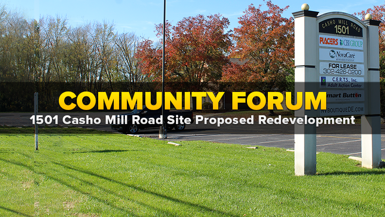 Casho Mill Road Community Forum Website Graphic